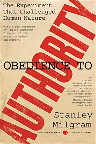 Stanley Milgram Obedience To Authority An Experimental View