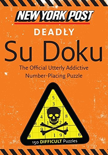 None New York Post Deadly Su Doku 150 Difficult Puzzles