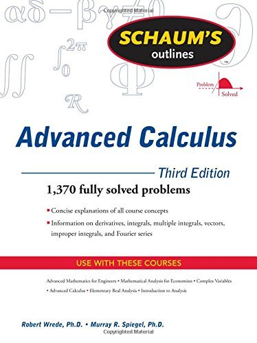 Robert C. Wrede Schaum's Outlines Advanced Calculus 0003 Edition;