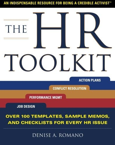 Denise Romano The Hr Toolkit An Indispensable Resource For Being A Credible Ac