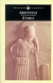Aristotle The Ethics Of Aristotle The Nicomachean Ethics (p