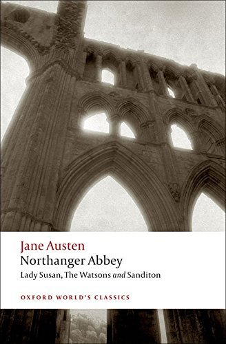 Jane Austen Northanger Abbey Lady Susan The Watsons Sandito