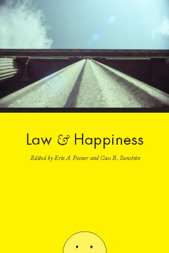 Eric A. Posner Law And Happiness