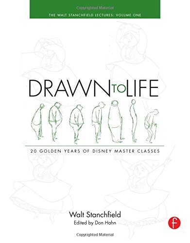 Walt Stanchfield Drawn To Life 20 Golden Years Of Disney Master Classes Volume