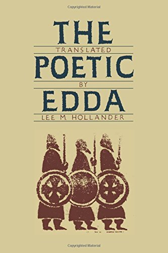 Lee M. Hollander The Poetic Edda Second Edition Revised 0002 Edition;