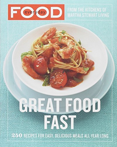 Martha Stewart Living Magazine Everyday Food Great Food Fast 250 Recipes For Easy Delicious