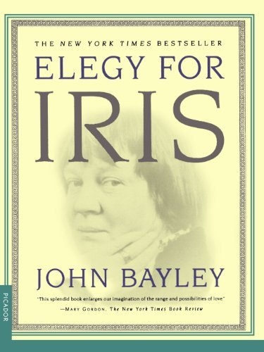 John Bayley Elegy For Iris