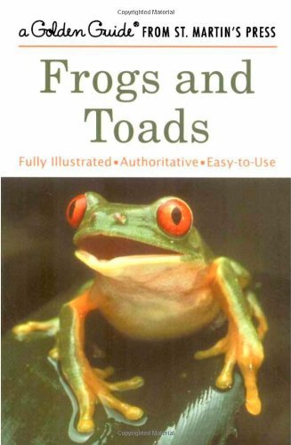 Dave Showler Frogs & Toads (golden Guide From St. Martin's Pr