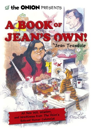 Jean Teasdale The Onion Presents A Book Of Jean's Own! All New Wit Wisdom And Wackiness From The Onion