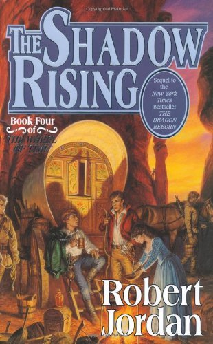 Robert Jordan The Shadow Rising Book Four Of 'the Wheel Of Time'