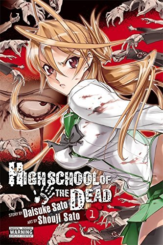Daisuke Sato Highschool Of The Dead Vol. 1