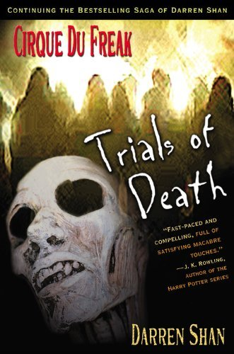 Darren Shan Trials Of Death (cirque Du Freak Saga Of Darren S