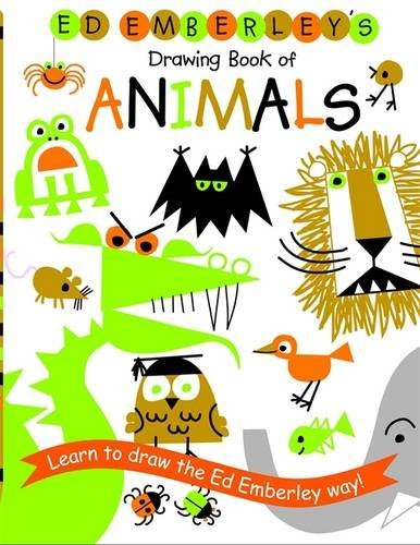Ed Emberley Ed Emberley's Drawing Book Of Animals