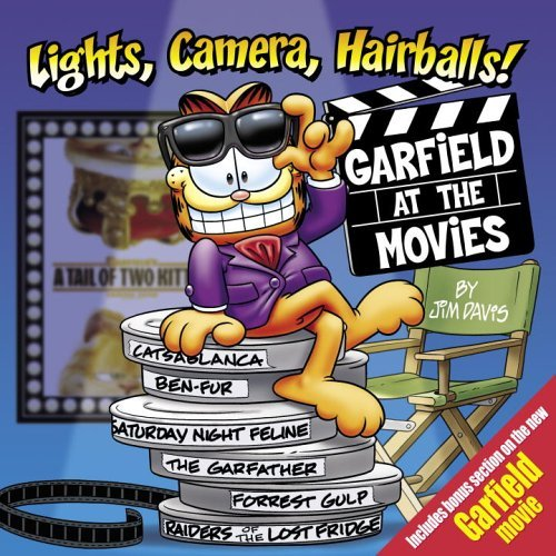 Jim Davis Lights Camera Hairballs! Garfield At The Movies