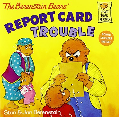 stan-berenstain-the-berenstain-bears-report-card-trouble