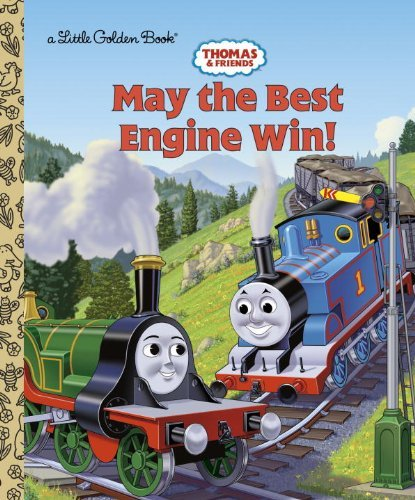 Golden Books Thomas And Friends May The Best Engine Win (thomas & Friends)