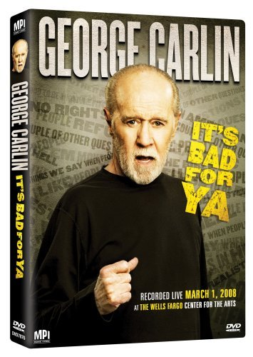 George Carlin Carlin It's Bad For Ya Nr