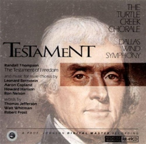 Testament Testament Turtle Creek Chorale Dallas Wind Sym
