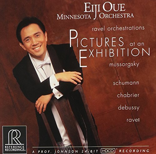 Mussorgsky Ravel Pictures At An Exhibition Hdcd Oue Minnesota Orch