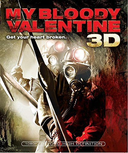 My Bloody Valentine (2009) 3d Ackles King Smith Ws Blu Ray R Incl. 3d Glasses