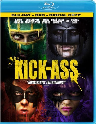 Kick Ass Cage Johnson Mintz Plasse Stro Blu Ray Ws R Incl. DVD