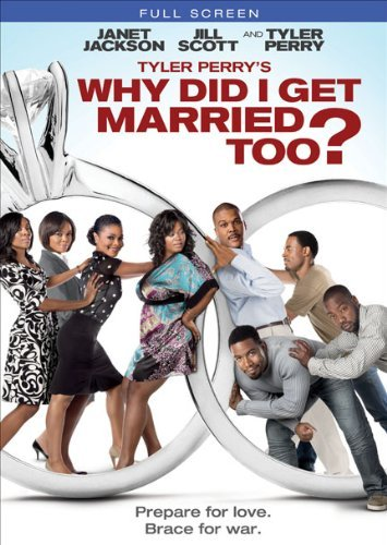 Why Did I Get Married Too? Tyler Perry Perry Jackson Scott DVD Pg13 Fs