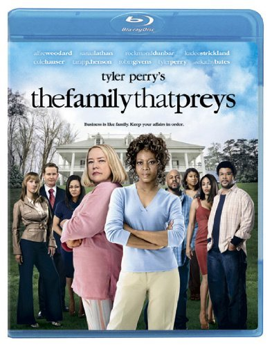 Family That Preys Tyler Perry Woodard Bates Blu Ray Pg13