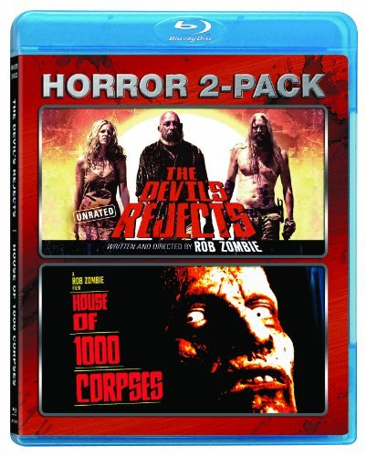 Devil's Rejects House Of 1000 Double Feature Blu Ray R