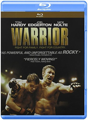 Warrior Hardy Edgerton Nolte Blu Ray Dc Pg13