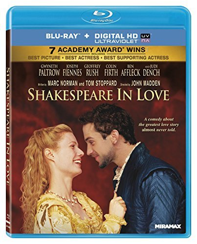 Shakespeare In Love Rush Paltrow Firth Blu Ray Ws R