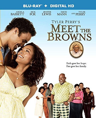 Meet The Browns Tyler Perry Bassett Perry Vergara Fox Blu Ray Pg13