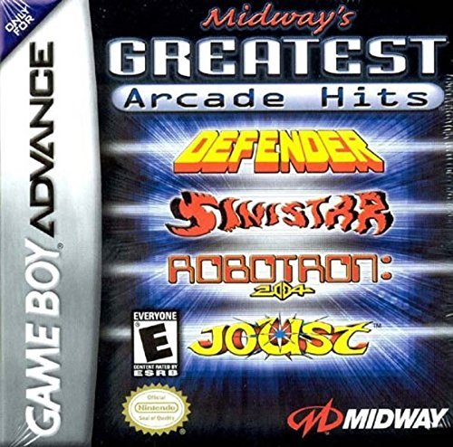 Gba Midway's Greatest Arcade Hits E