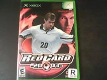 Xbox Red Card Soccer