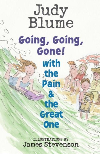 Judy Blume Going Going Gone! With The Pain And The Great On