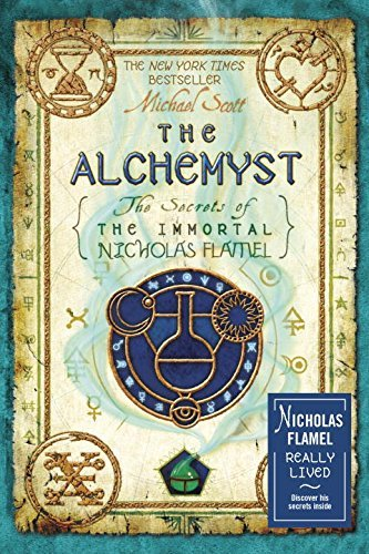 Michael Scott The Alchemyst Secrets Of The Immortal Nicholas Flamel Vol 1