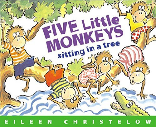 Eileen Christelow Five Little Monkeys Sitting In A Tree