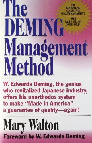 Mary Walton The Deming Management Method