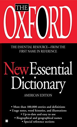 Oxford University Press The Oxford New Essential Dictionary American Edition