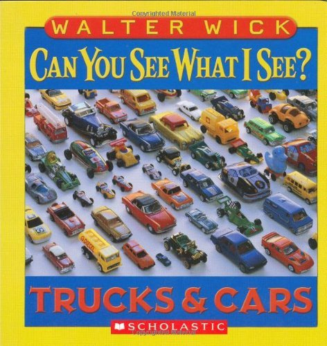 Walter Wick Can You See What I See? Trucks And Cars Picture Puzzles To Search And So