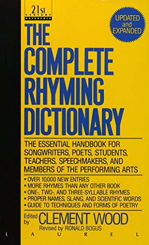 Clement Wood The Complete Rhyming Dictionary Revised