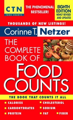 Corinne T. Netzer Complete Book Of Food Counts The 0008 Edition;