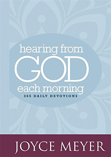 Joyce Meyer Hearing From God Each Morning 365 Daily Devotions