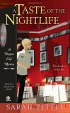 Sarah Zettel A Taste Of The Nightlife A Vampire Chef Mystery