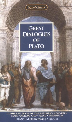 Plato Great Dialogues Of Plato