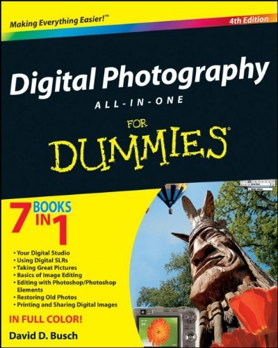 David D. Busch Digital Photography All In One For Dummies 0004 Edition;