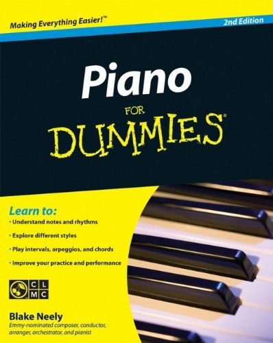 Blake Neely Piano For Dummies [with Cdrom] 0002 Edition;revised