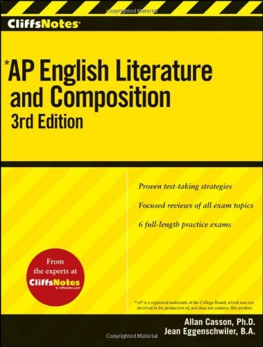 Allan Casson Cliffsnotes Ap English Literature And Composition 0003 Edition;
