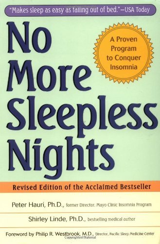 Peter Hauri No More Sleepless Nights 0002 Edition;revised