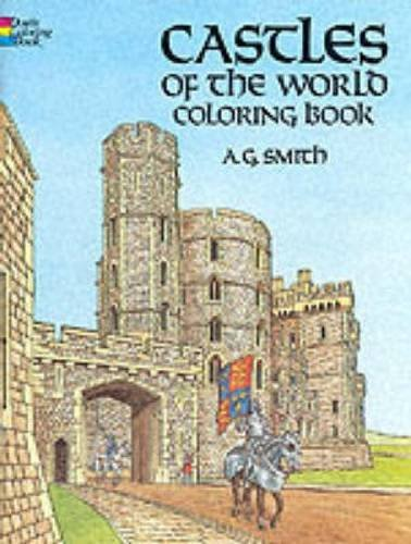A. G. Smith Castles Of The World Coloring Book