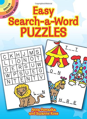 Anna Pomaska Easy Search A Word Puzzles